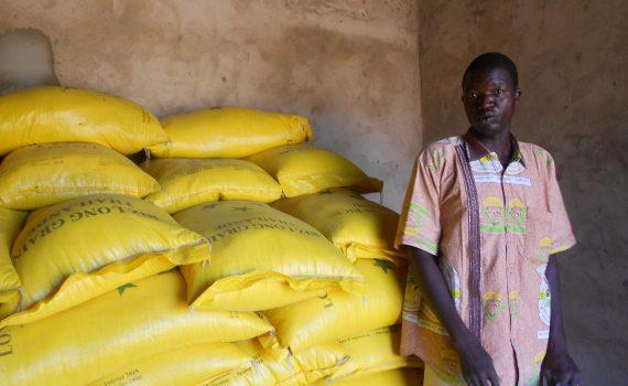 magasin de céréales à Kiendsom