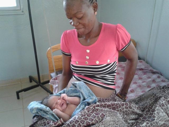 naissance à la maternité