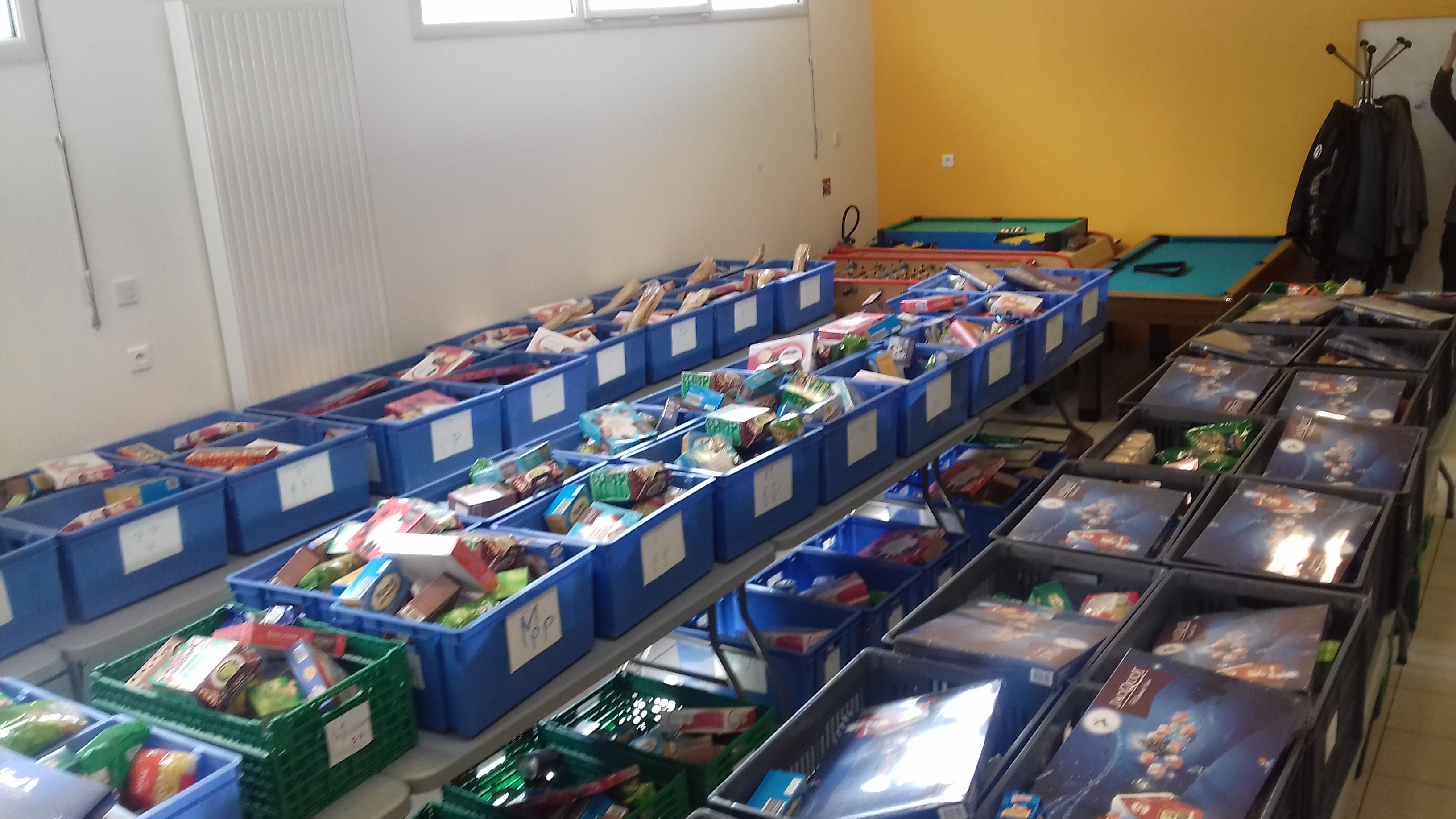 Distribution alimentaire à Clermont-Ferrand